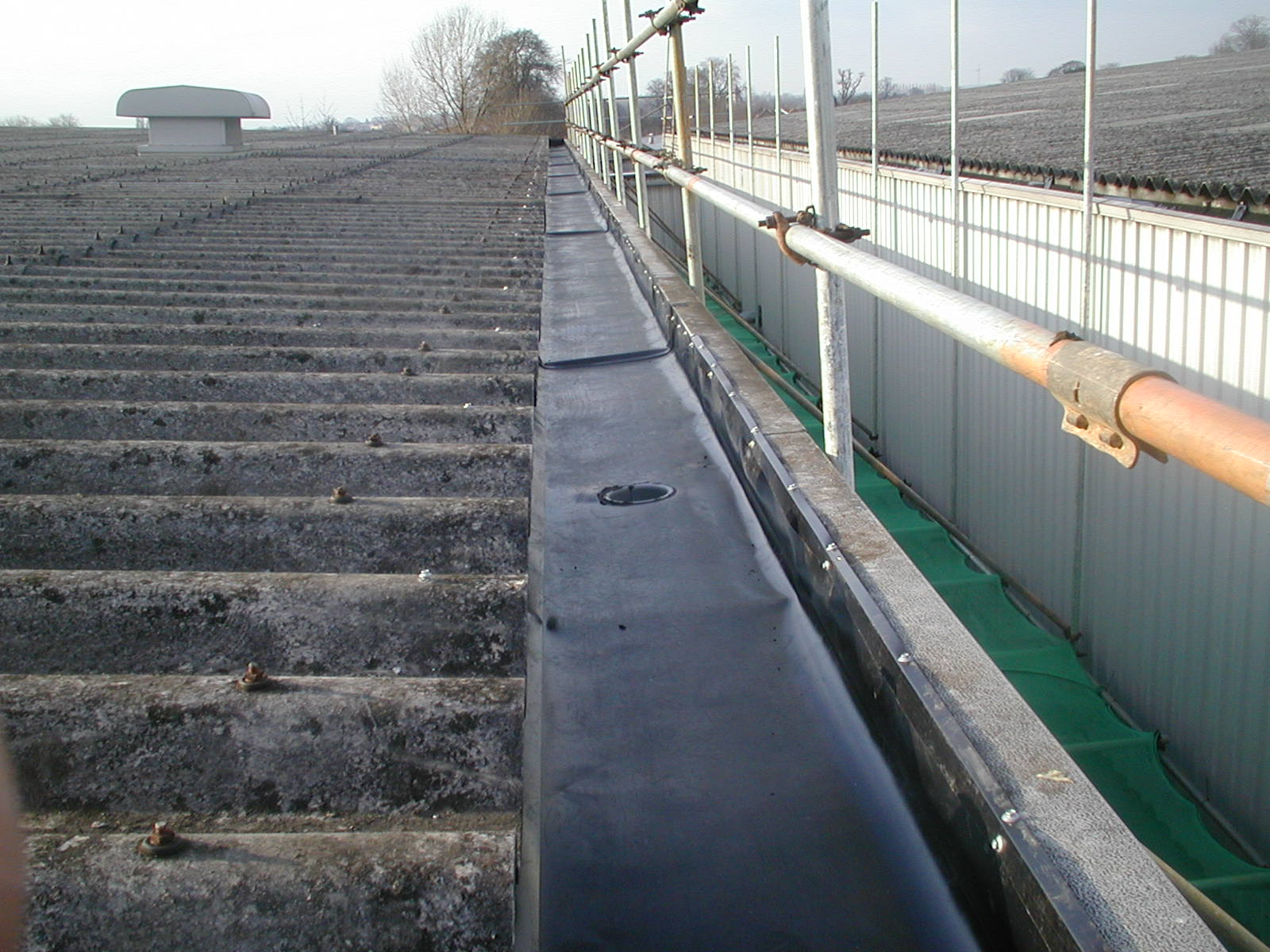 Commercial guttering from PSG Roofline